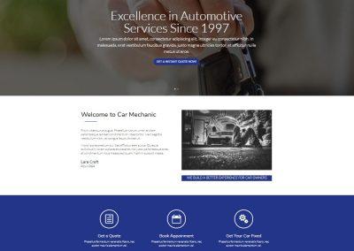mechanic's website